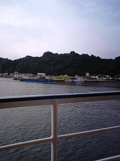 桂島で朝ご飯♪